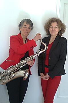 saxophon duo sirenade