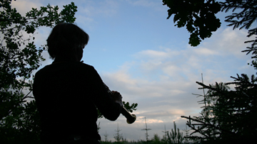soloimprovisation mit saxophon - marion schwan
